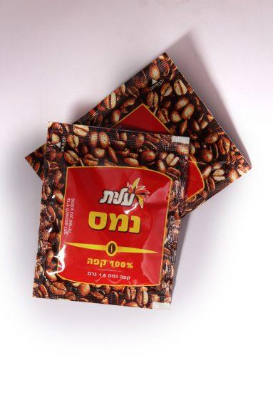 מנות קפה נמס עלית 100 יח'   הכל לצימר