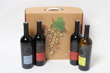 מארזי חג 4 יינות יוגב במזוודה מהודרת   הכל לצימר
