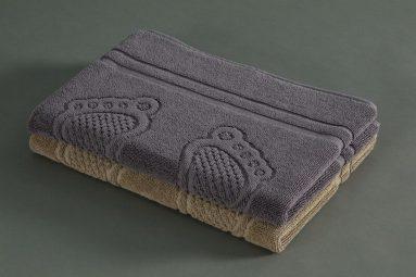 שטיחון אמבטיה פסיעות לבן 50/70 | הכל לצימר
