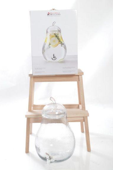 מיכל זכוכית 9.2 ליטר אגס | הכל לצימר