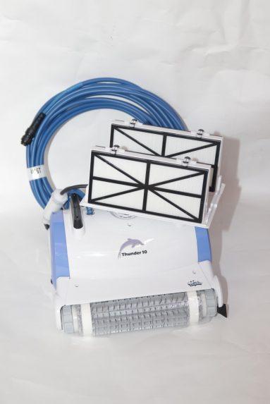 רובוט לבריכה דגם טנדר 10 מתאים לקרמיקה ופסיפס | הכל לצימר