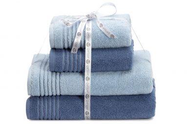 מארז (4) מגבות פרימיום כחול | הכל לצימר